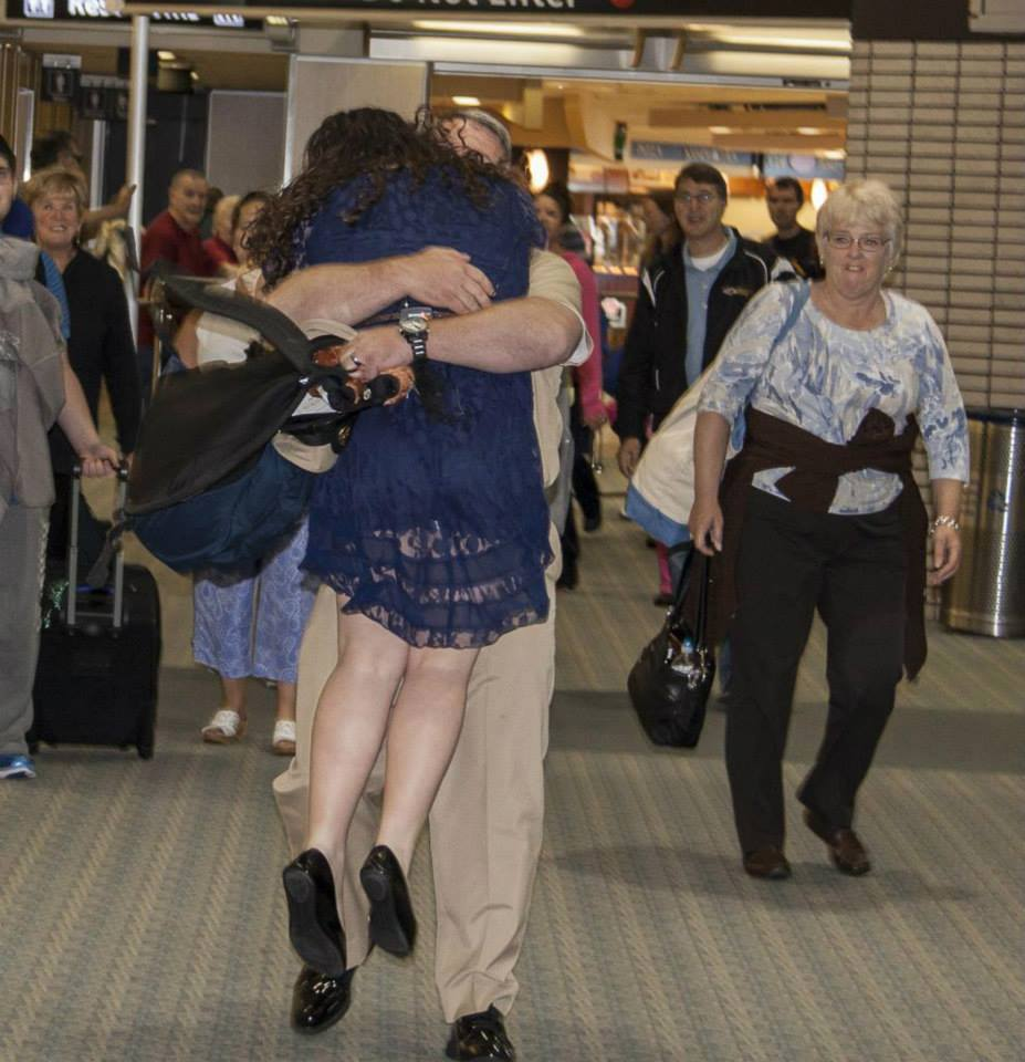 USO Surprise Homecoming